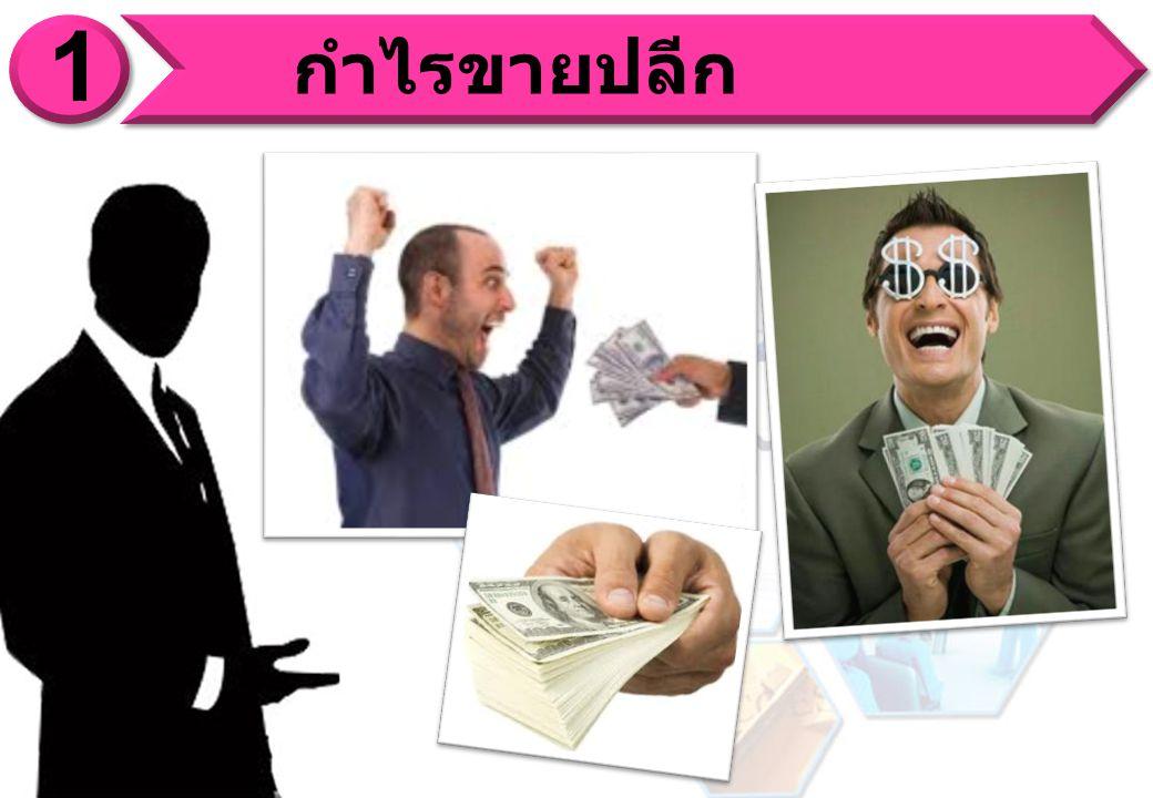 You ซื้อมา 1,000 PVX 30% = 300 บ.ซื้อมา 4,000 PVX 30% = 1,200 บ.