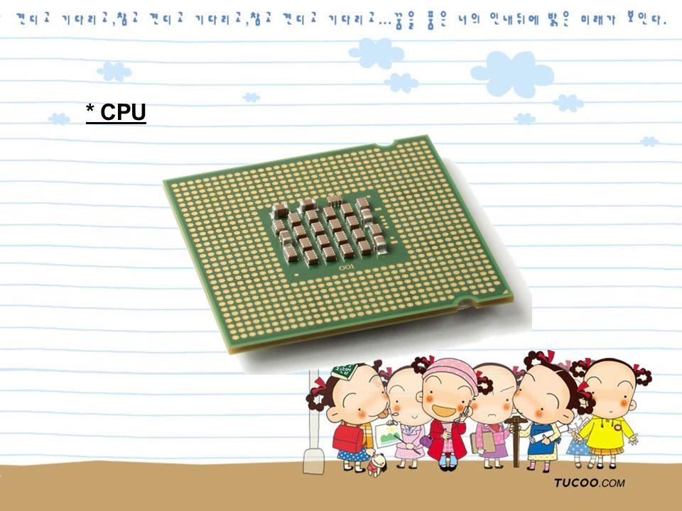 * CPU
