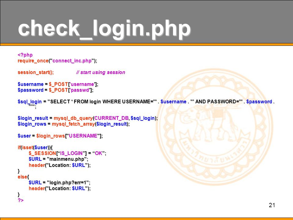 21 check_login.php <?php require_once(