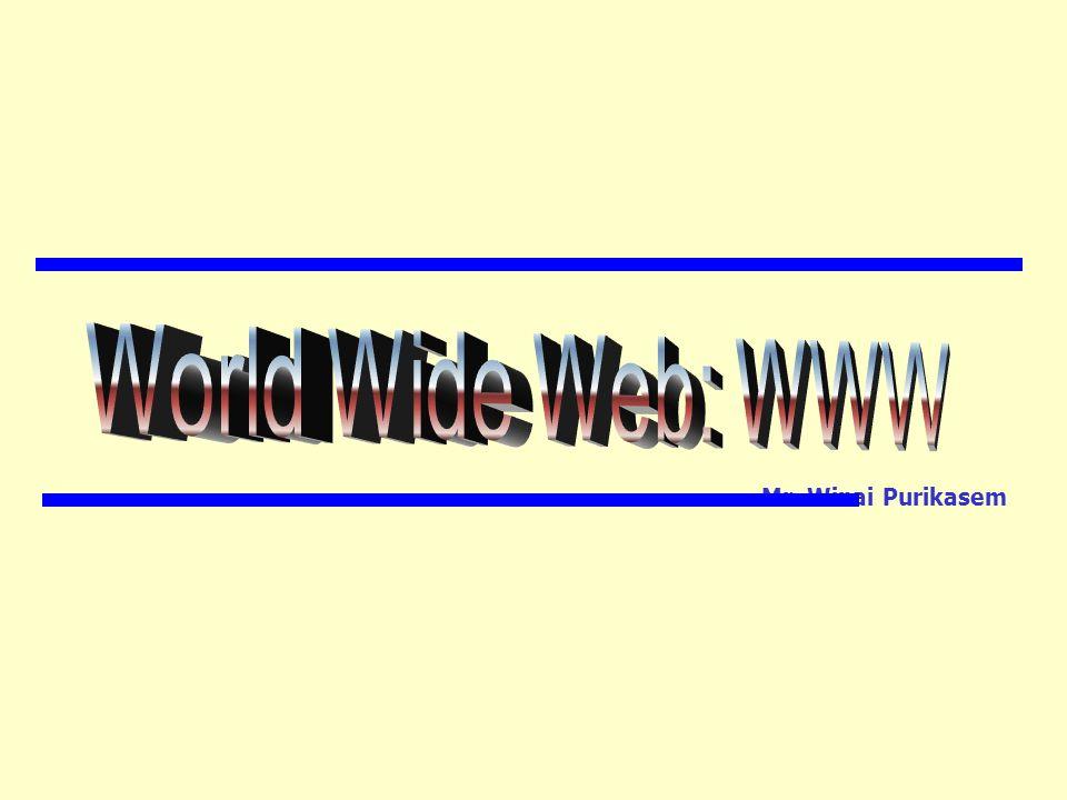 ตัวอย่างการเขียนเอกสารเวบ Example Page HTML :) สวัสดีชาวโลก .