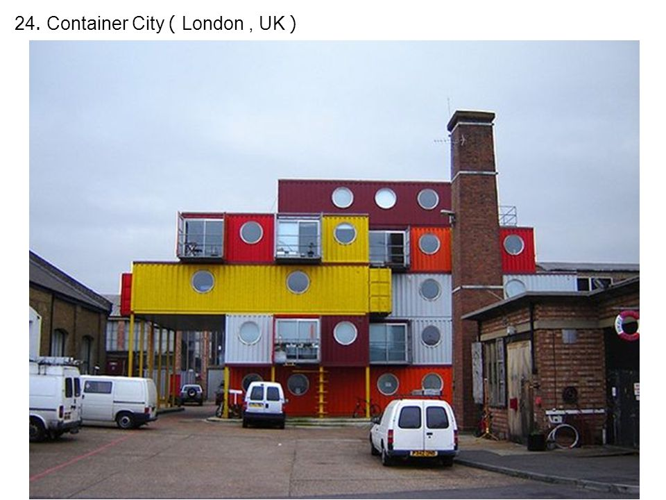 24. Container City ( London, UK )