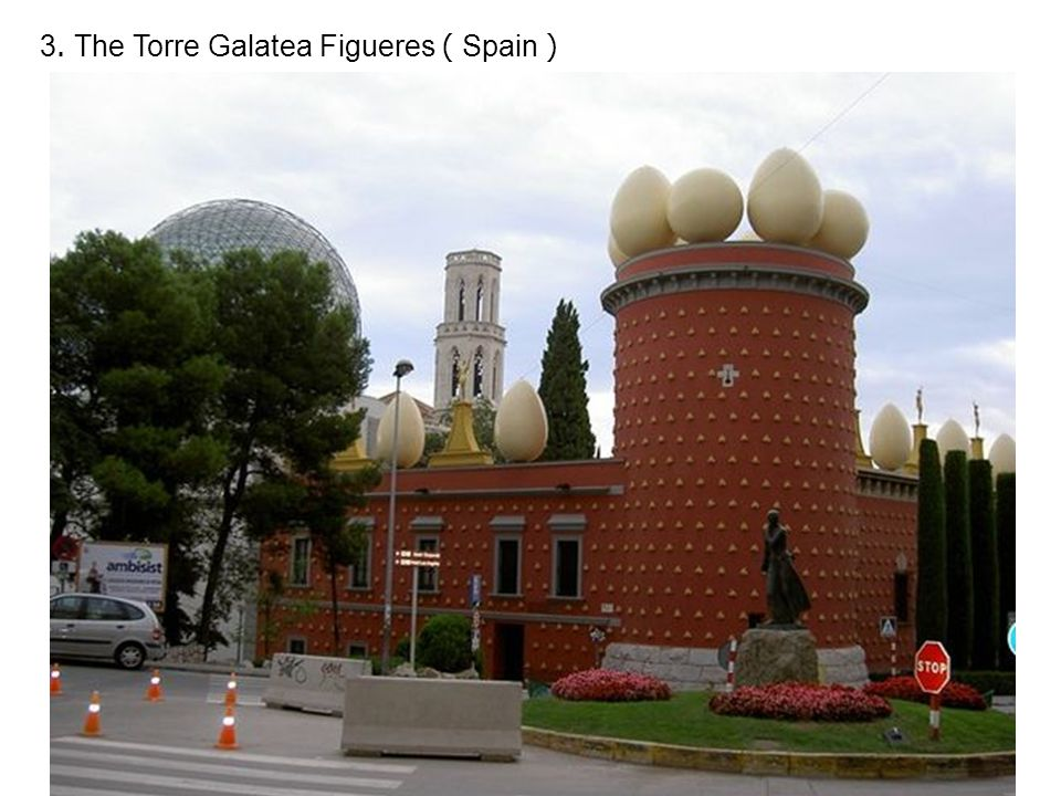 3. The Torre Galatea Figueres ( Spain )