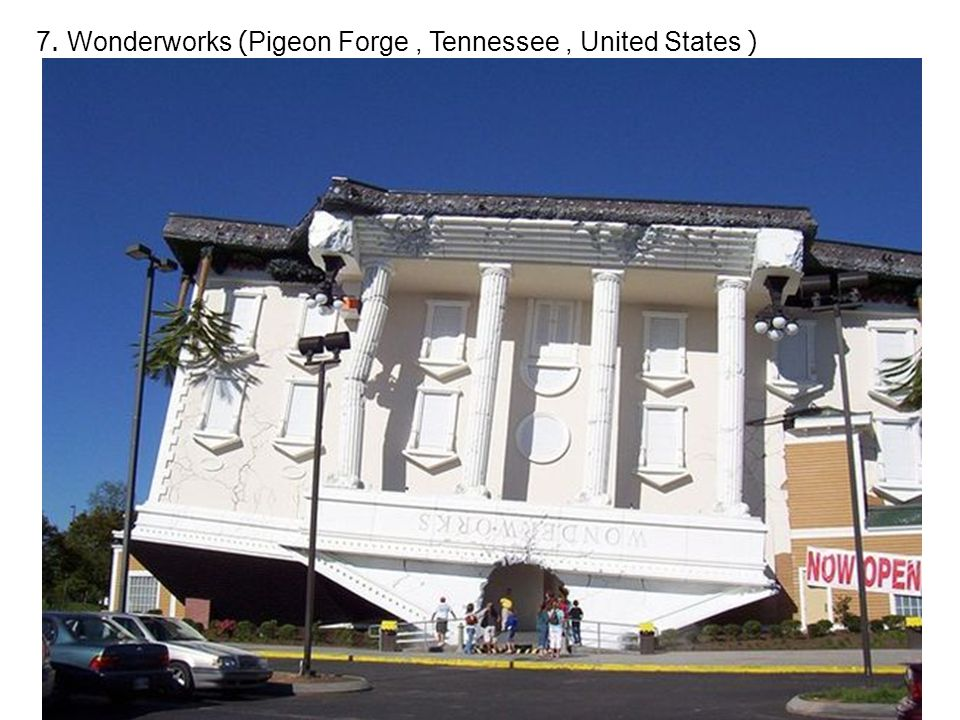 7. Wonderworks (Pigeon Forge, Tennessee, United States )