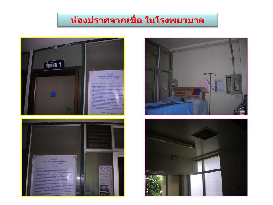 ห้องปราศจากเชื้อ ในโรงพยาบาล