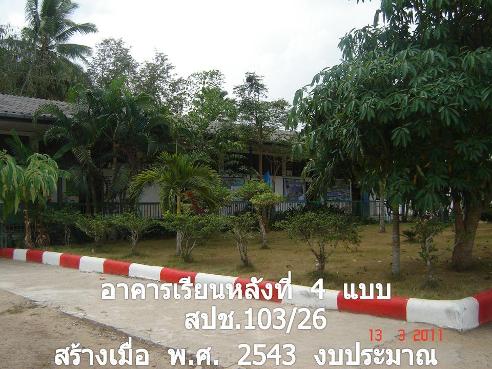 การสวนสาธิตการปลูก ยางพาราของโรงเรียน