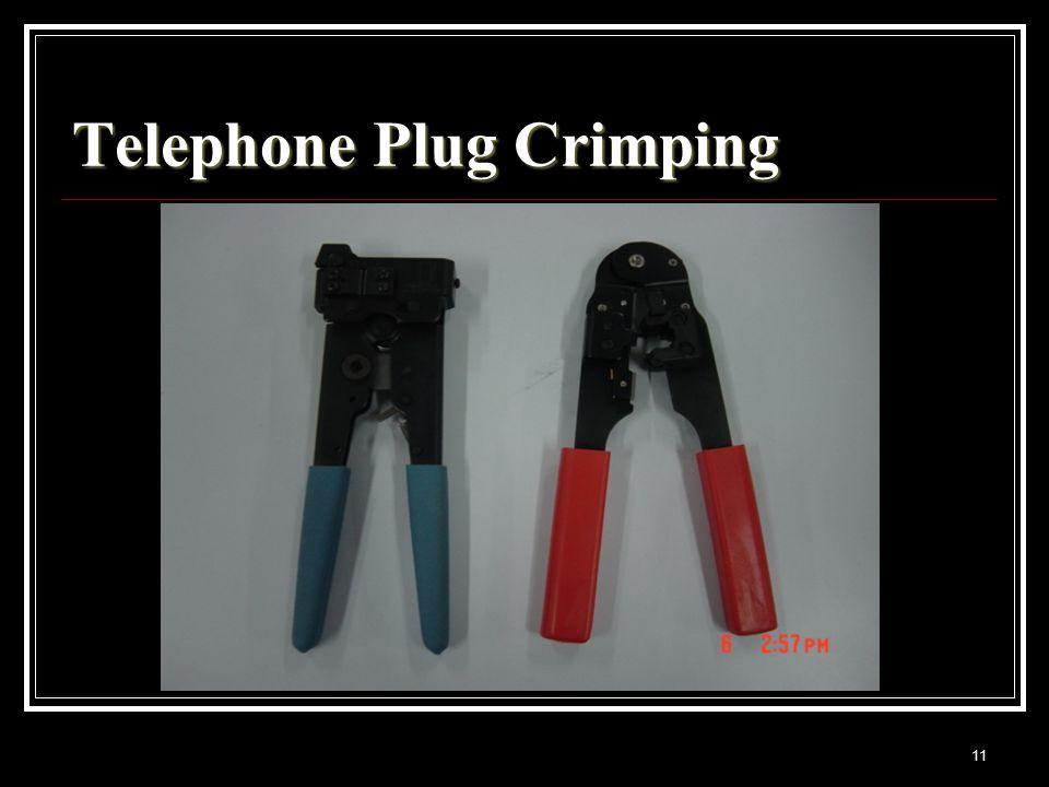 11 Telephone Plug Crimping