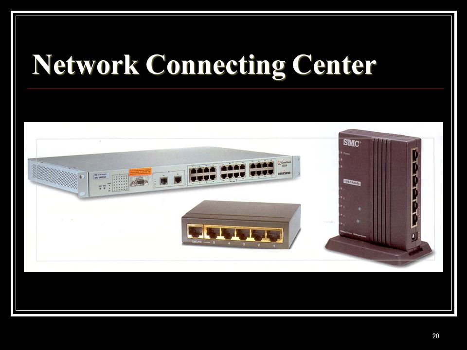 20 Network Connecting Center