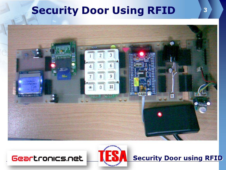 4 Security Door using RFID