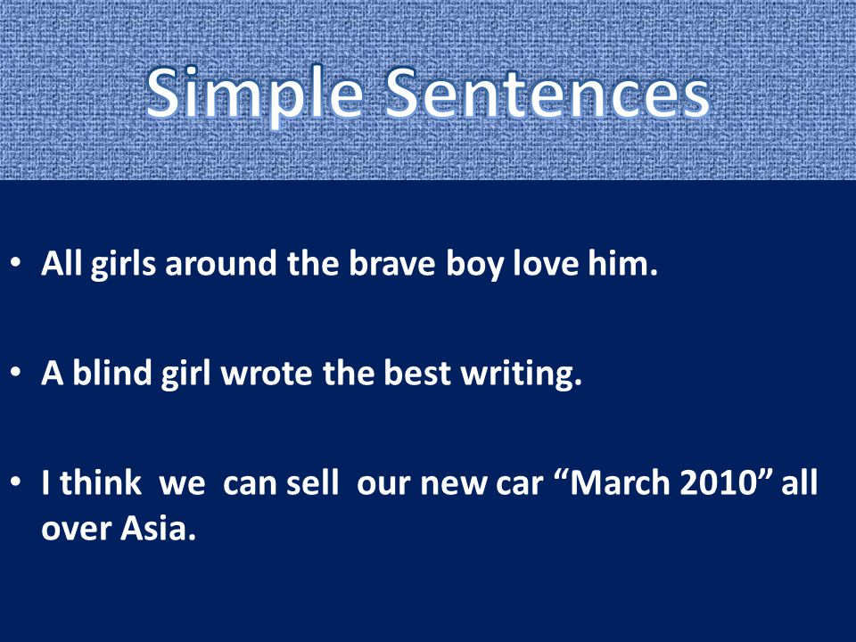 "All girls around the brave boy love him. A blind girl wrote the best writing. I think we can sell our new car ""March 2010"" all over Asia."