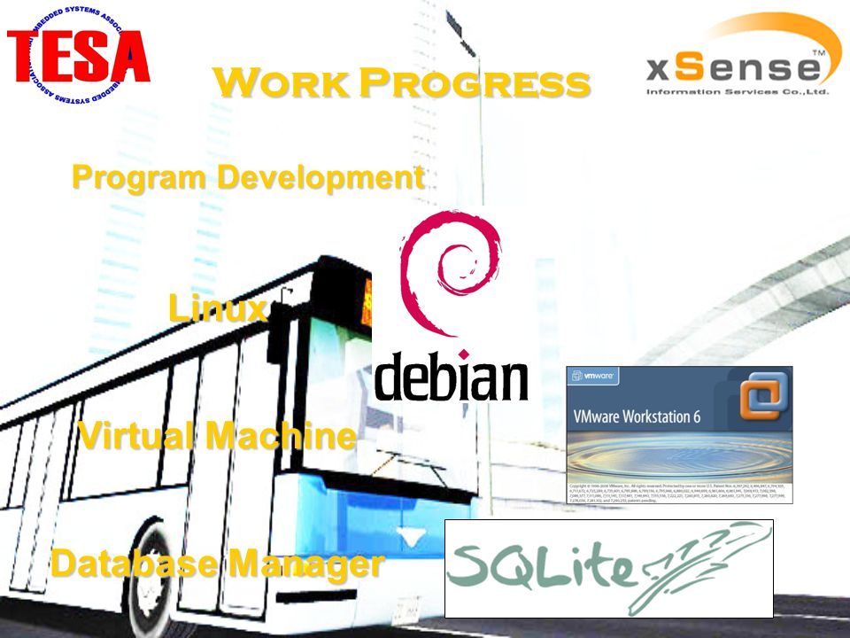 Work Progress Program Development Linux Virtual Machine Database Manager