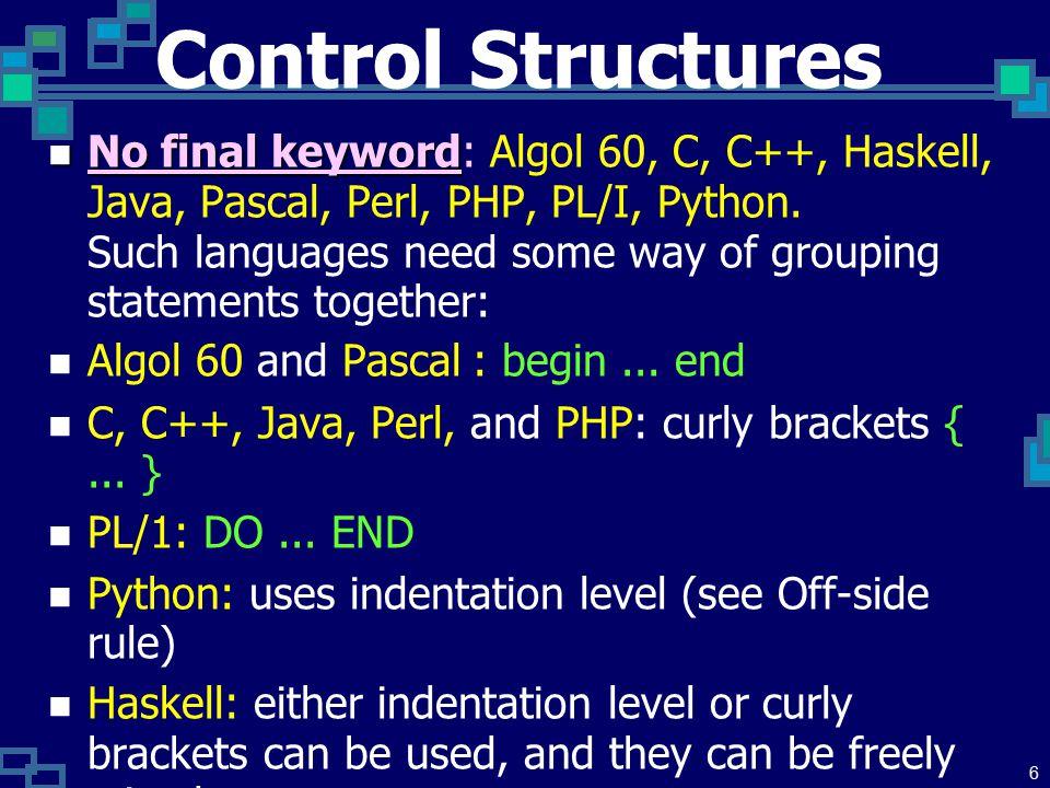 5 Primitive Subroutines อาจใช้ชื่อเรียกเป็นอย่างอื่น เช่น routines, procedures, functions ( ส่งค่า ผลลัพธ์กลับ ) หรือ methods ( โดยเฉพาะ กับ classes หรือ type classes).