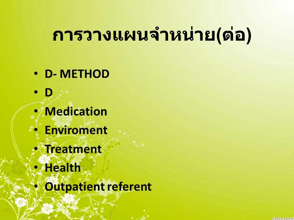 การวางแผนจำหน่าย ( ต่อ ) Diet --------------------------------------------- คู่มือสำคัญ สำหรับผู้ป่วย และผู้ดูแล -Cath.
