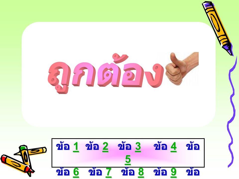 A B 1 0. ข้อ 1 ข้อ 2 ข้อ 3 ข้อ 4 ข้อ 5 ข้อ 6 ข้อ 7 ข้อ 8 ข้อ 9 ข้อ 10 1234 56789 101234 56789 10