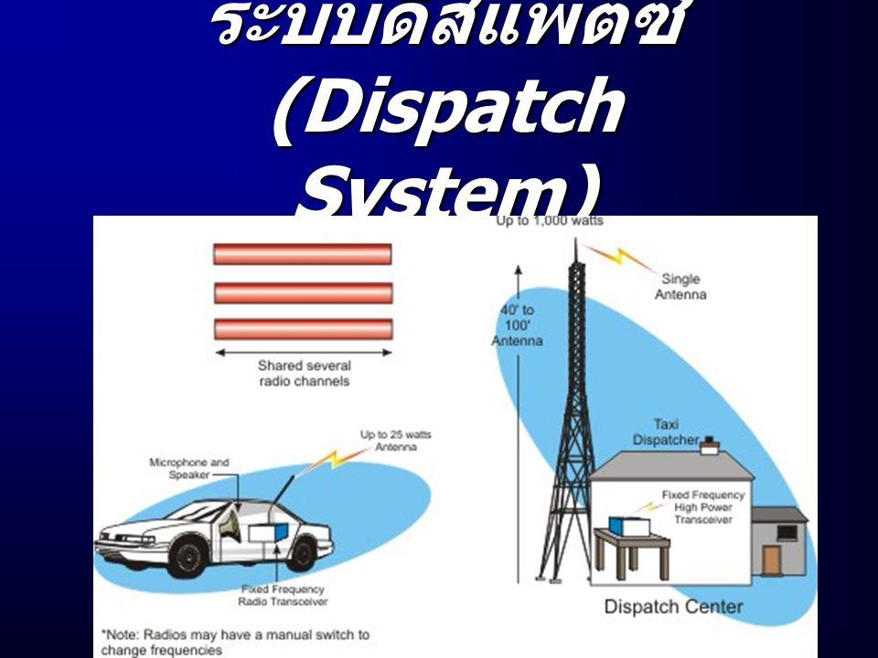 ระบบดิส แพตช์ (Dispatch System)