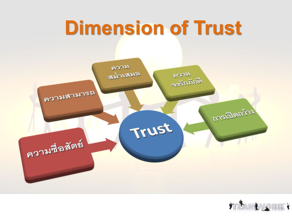 Dimension of Trust