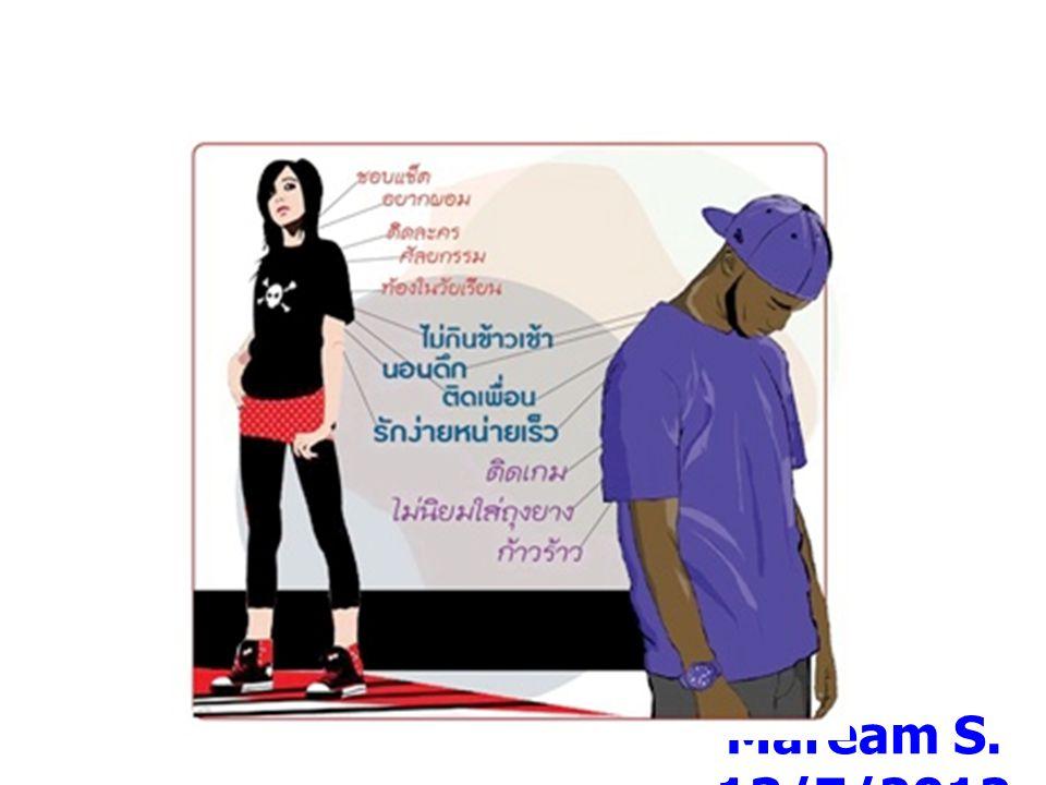 มิติด้าน วัฒนธรรม Maream S. 13/7/2012