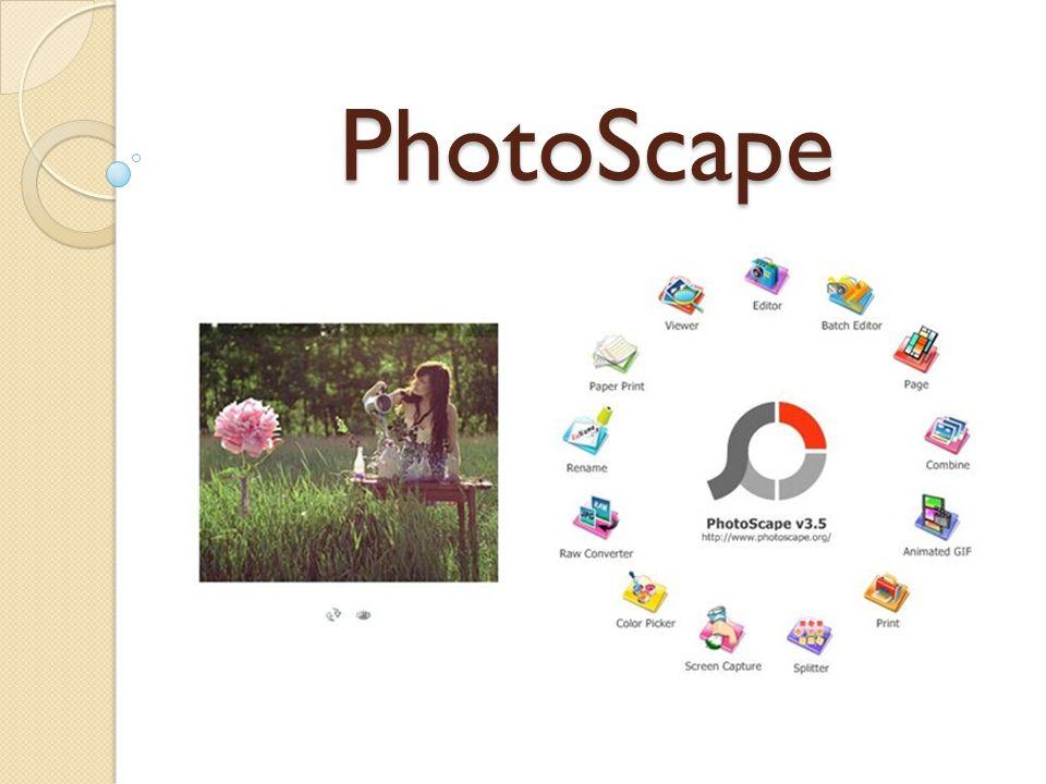 PhotoScape แทบเครื่องมือต่างๆให้เราตกแต่ง ตามใจชอบ ตัวการ์ตูน มากมาย