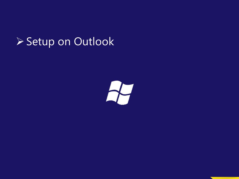 41 Email Account Configuration For Existing Outlook ปกติทุกท่านจะใส่ user เป็น cdg\00XXXX ซึ่งจะทำ ให้ login ไม่ผ่าน (User ถูกลบออกจากระบบเก่าแล้ว ) ใ