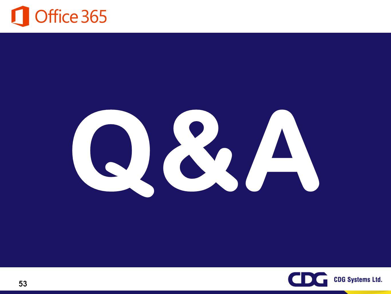 53 Q&A