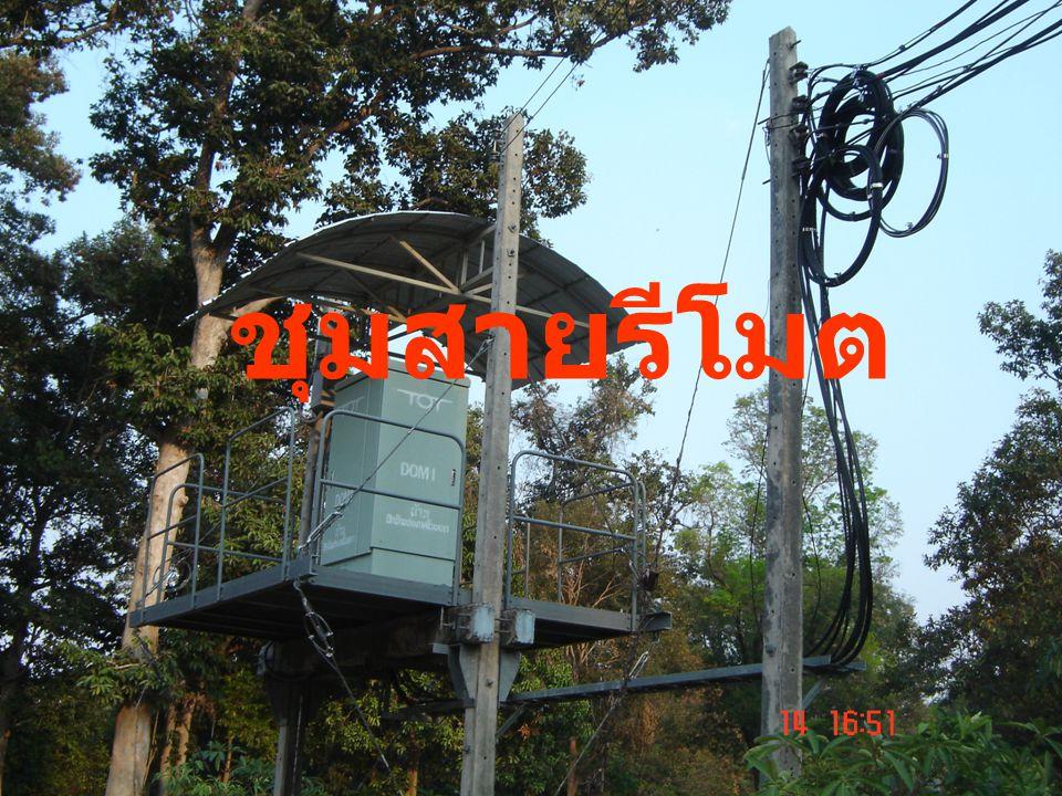 ชุมสายรีโมต ( Remote Switch Unit หรือ Remote Subscriber Unit : RSU ) เป็นส่วนหนึ่งของ ชุมสายท้องถิ่น ที่แยกไป ติดตั้งในพื้นที่ที่ห่างไกล เช่นหมู่บ้านห