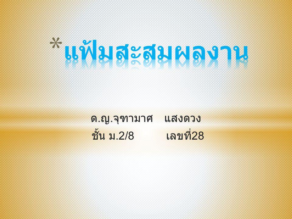 * เด็กหญิง จุฑามาศ แสงดวง * 17 พฤศจิกายน 2543 * ที่อยู่ ค่ายเสนาณรงค์ ตำบล คอหงส์ อำเภอ หาดใหญ่ จังหวัด สงขลา * เบอร์โทร 0841983327 * อีเมล์ creamlove37@hotmai l.com creamlove37@hotmai l.com * Facebook Jutamas Saengdung