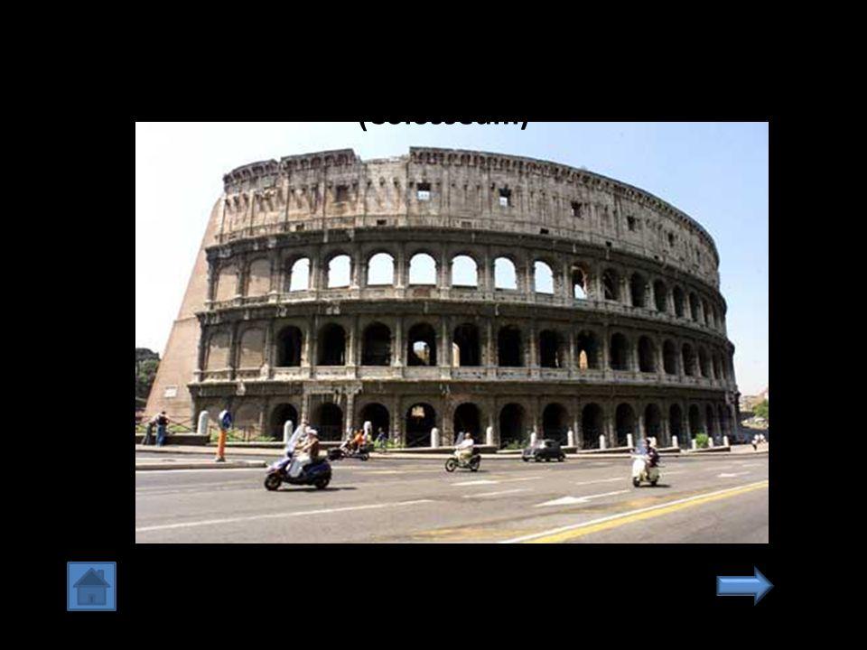 4. สนามโคลอสเซียม กรุงโรม อิตาเลียน (Colosseum)