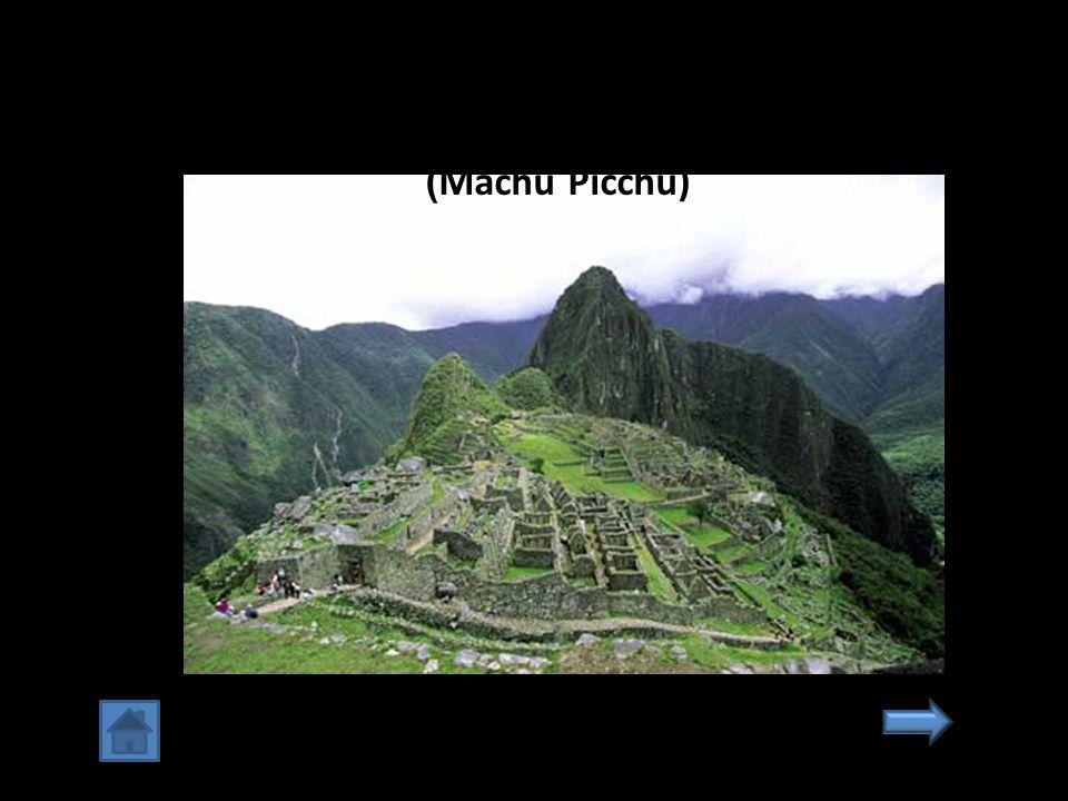 6. เมืองสาบสูญแห่งอินคา มาชูปิกชู เปรู (Machu Picchu)