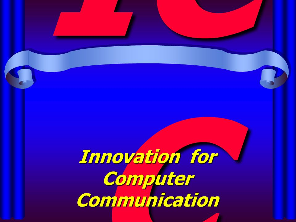 นวัตกรรม คอมพิวเตอร์ เพื่อการสื่อสาร Innovation for Computer Communication
