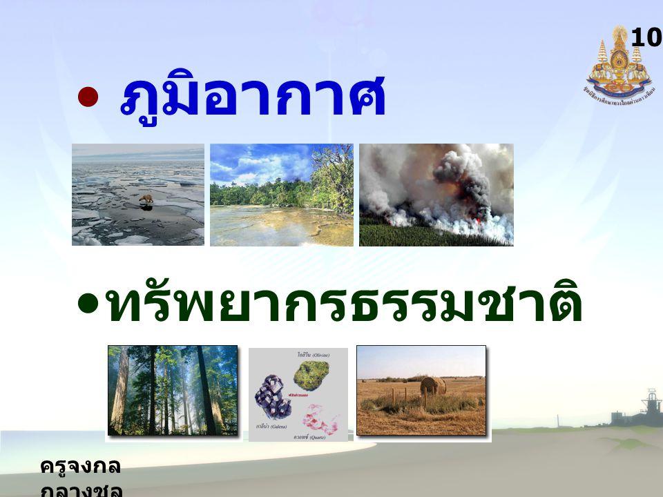 ครูจงกล กลางชล 10 ภูมิอากาศ ทรัพยากรธรรมชาติ