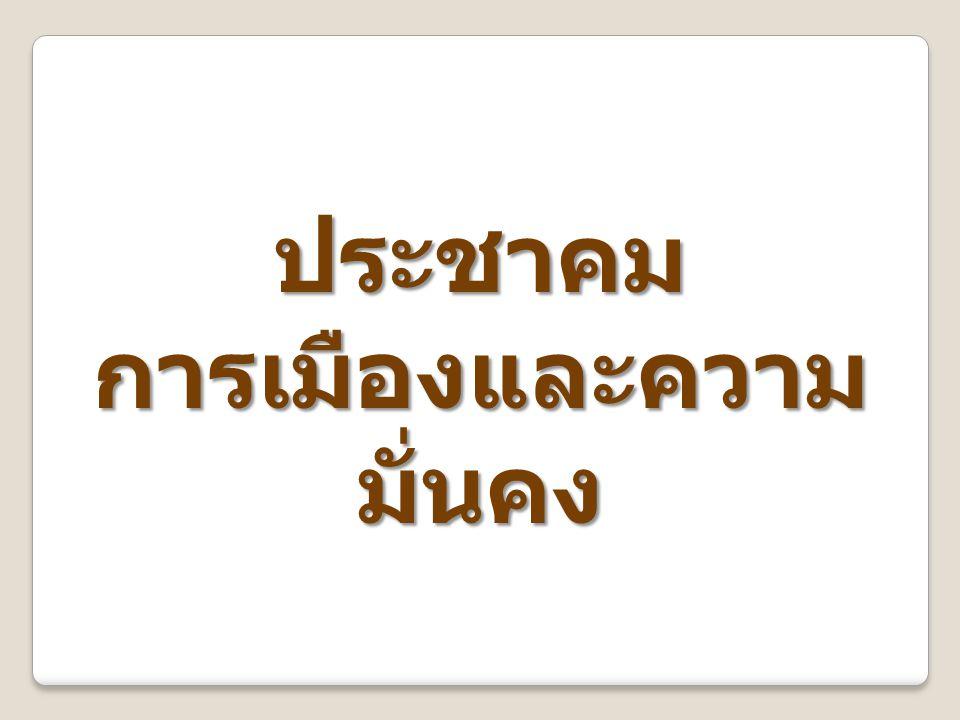 ไทยมีบทบาทนำในการ สร้างอัตลักษณ์อาเซียน ไทยเป็นศูนย์กลางใน การแลกเปลี่ยน ศิลปวัฒนธรรมใน อาเซียน