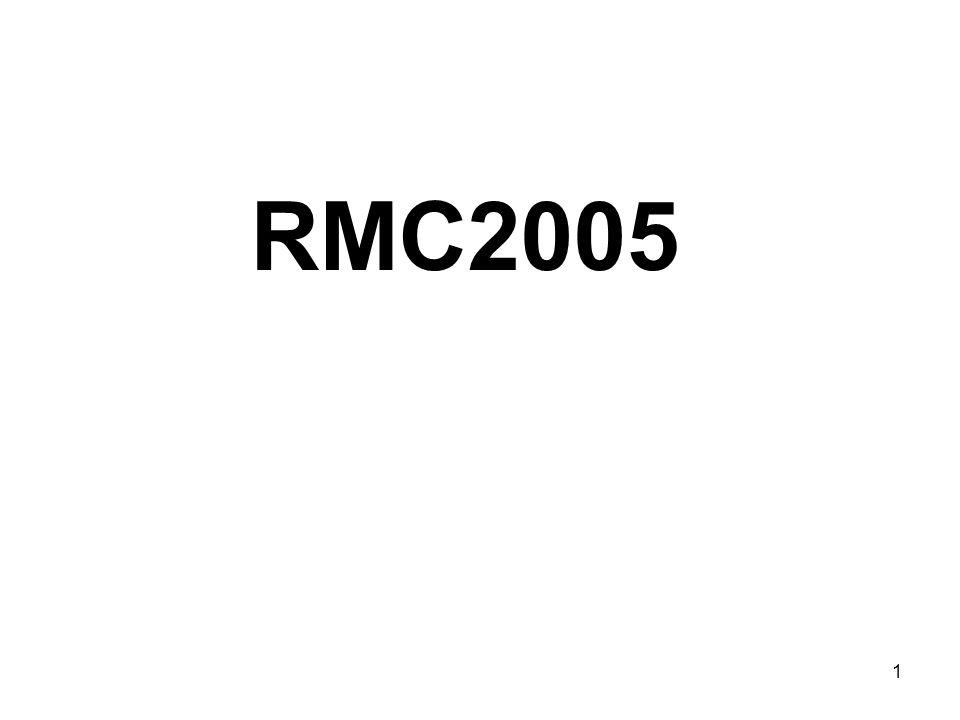 1 RMC2005