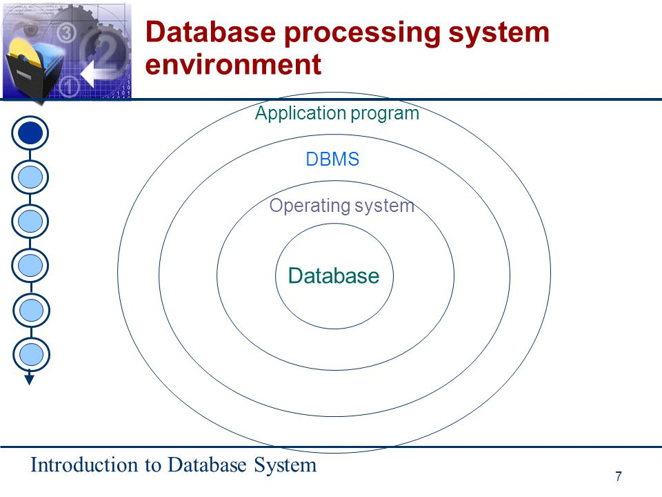 Introduction to Database System 38 Advantages of database approach (continue) u Standard can be enforced.
