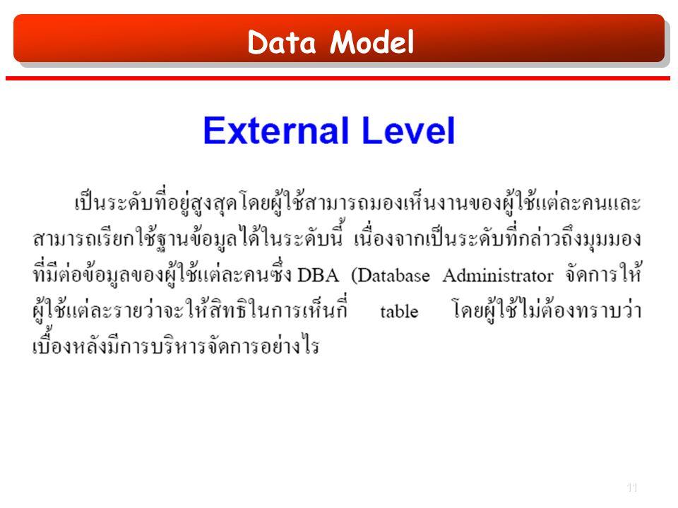 Data Model 11