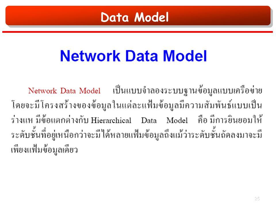 Data Model 25