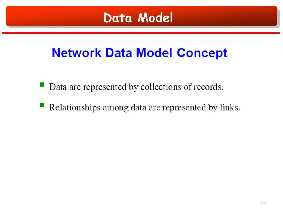 Data Model 26