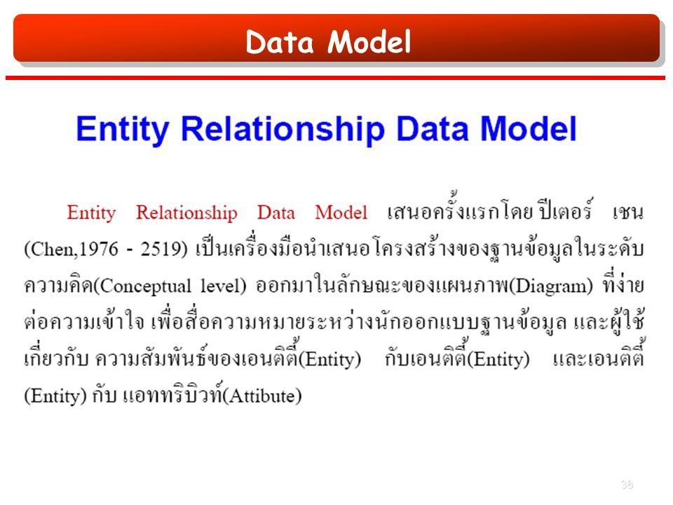 Data Model 38