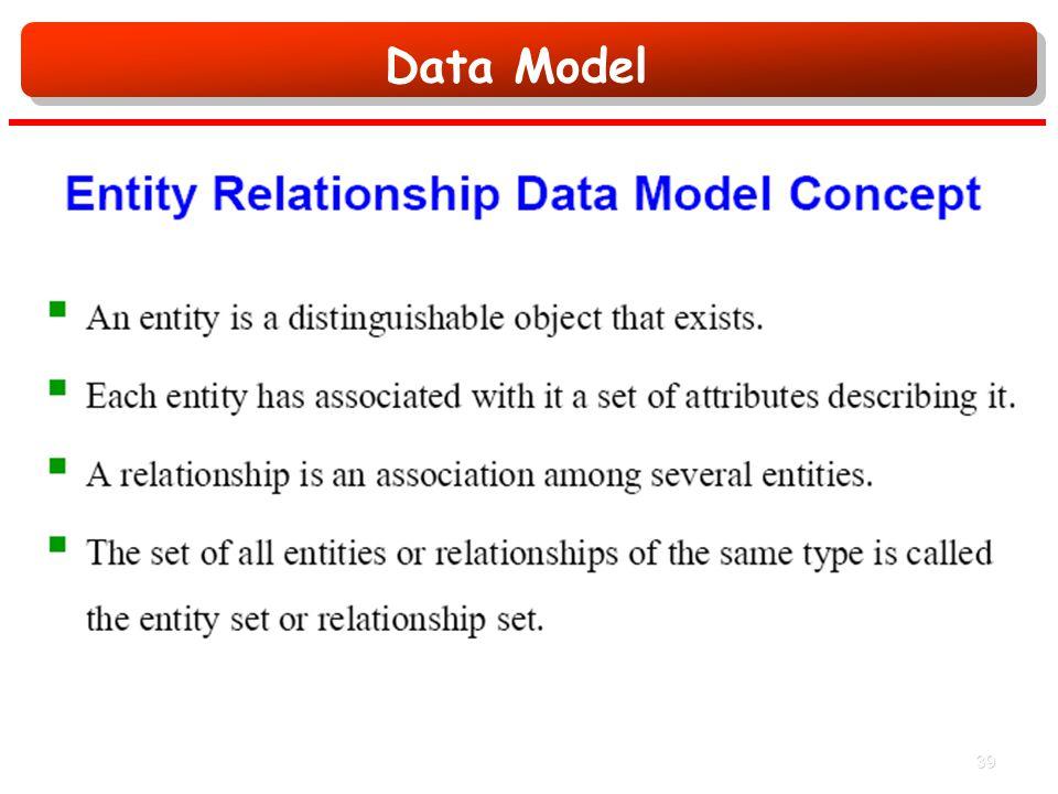 Data Model 39