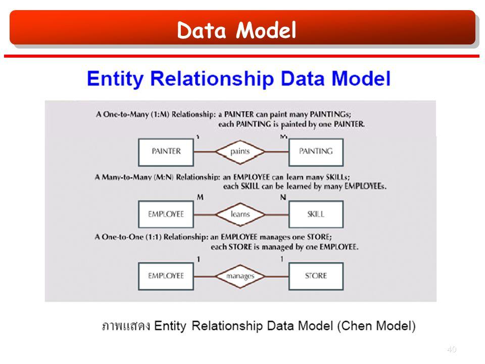 Data Model 40