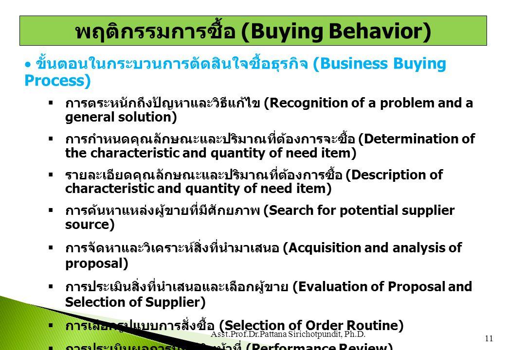  ขั้นตอนในกระบวนการตัดสินใจซื้อธุรกิจ (Business Buying Process)  การตระหนักถึงปัญหาและวิธีแก้ไข (Recognition of a problem and a general solution) 