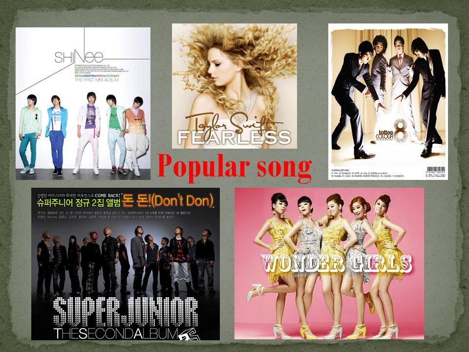 Popular song