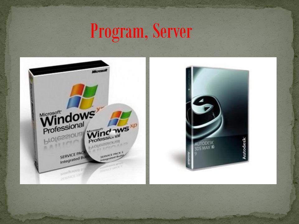 Program, Server