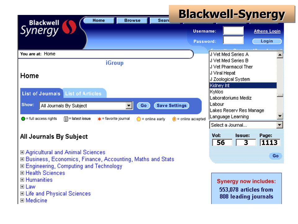 5631113 Blackwell-SynergyBlackwell-Synergy