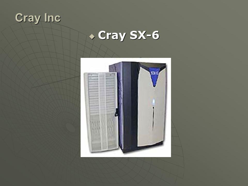 Cray Inc  Cray SX-6