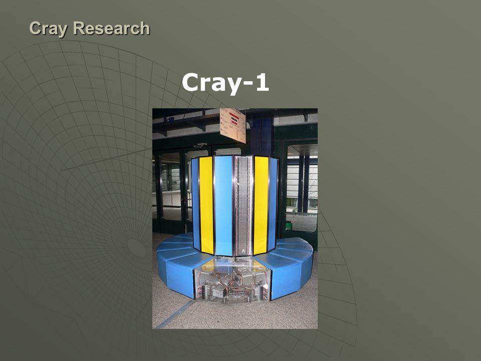 Cray Research ModelX-MP/1X-MP/2X-MP/24X-MP/4X-MP/2X-MP/1 X- MP /14 se Cpus1224211 Memory size/type 1,2,4 Mos 2,4M Bipo lar 2M Bipo lar 4,8,16M Bipolar2,4,6,16M Mos4,8,16M Mos4M Mos SSD 64,128,256,10 24M 64,128,2 56M 32,64,128,256,5 12M N/AN/A IOS2,3,4 2,42,3,4 2 Buffer memory8,32,64 M 4,8 2,4,8