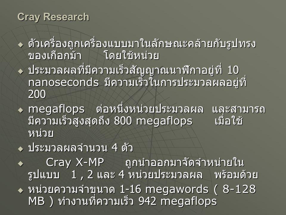  Cray 2 Cray Research