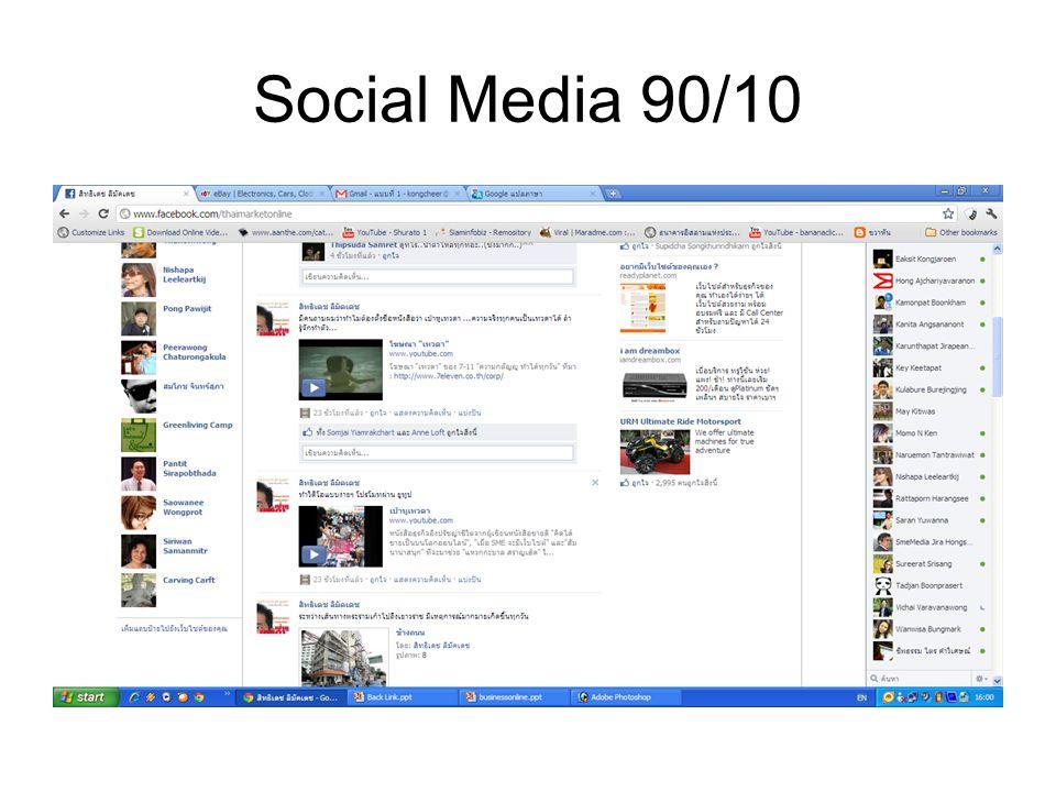 Social Media 90/10