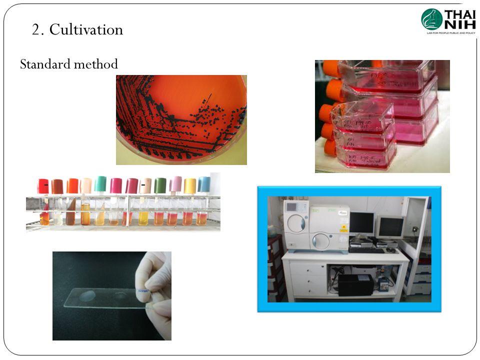 2. Cultivation Standard method --