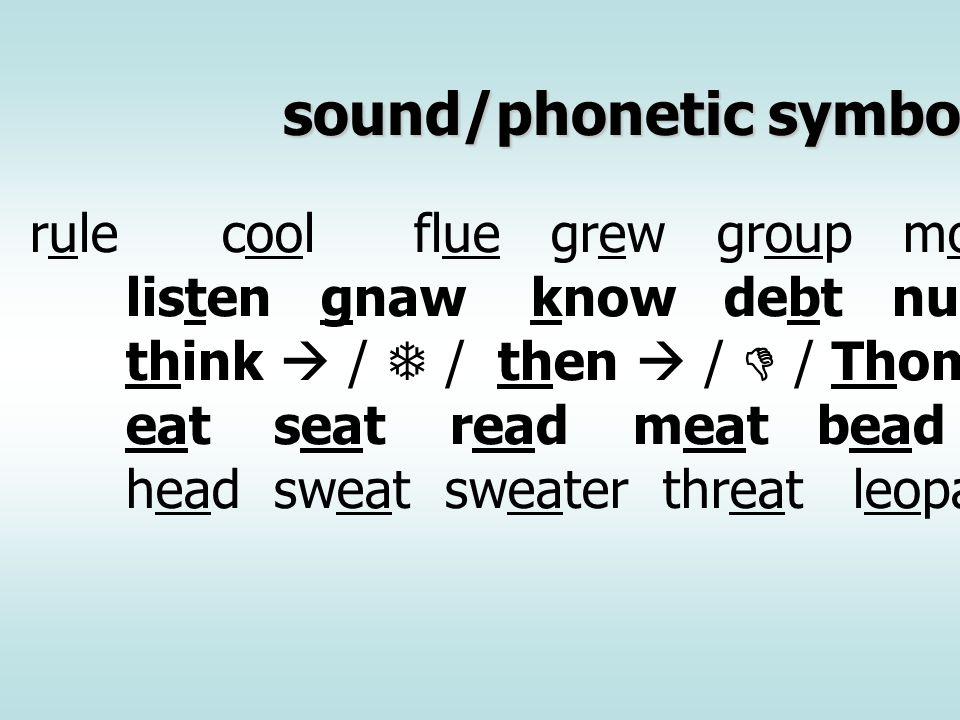 หน่วยเสียงภาษาอังกฤษ หน่วยเสียงภาษาอังกฤษมีทั้งหมด 24 หน่วยเสียง โดยหน่วยเสียงที่ไม่มีในภาษาไทยซึ่งเป็นปัญหาสำหรับ คนไทยที่เรียนภาษาอังกฤษมี 10 หน่วยเสียง คือ /           / สำหรับหน่วยเสียง /  / นั้นเป็นเสียงม้วนลิ้น ริมฝีปากห่อกลม ในขณะที่ หน่วยเสีย /  / ของไทยนั้น จะเป็นเสียงรัว เช่น right/write read red rock rain และมีบางหน่วยเสียงที่มีในทั้งสองภาษาแต่ในภาษาไทย หน่วยเสียงดังกล่าวไม่ปรากฏในตำแหน่งท้ายพยางค์ เช่น / -  /safe graph tough golf / -  /safe graph tough golf / - /oil soil smile while milk film / -  /gas nice rejoice house bus miss