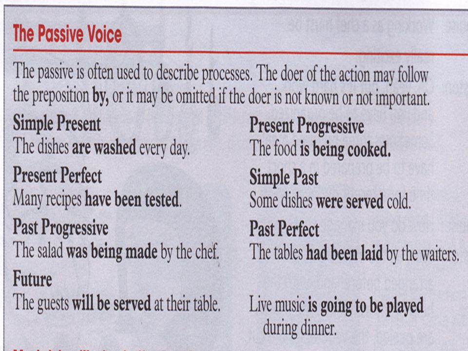 Underline passive voice in the text on page 80