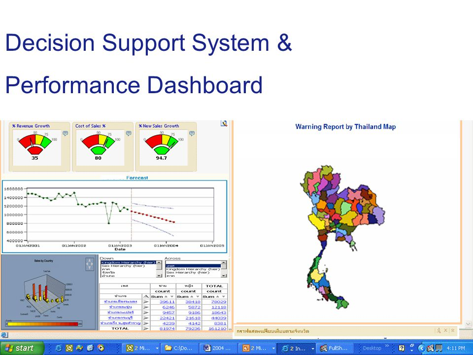 19 Decision Support System & Performance Dashboard